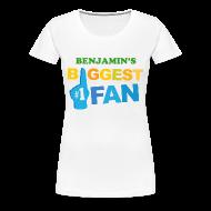 Women's T-Shirts ~ Women's Premium T-Shirt ~ Sports Biggest Fan personalized womens t-shirt