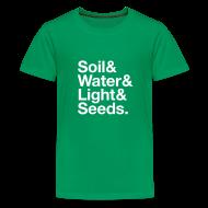 Kids' Shirts ~ Kid's Premium T-Shirt ~ A Garden - Kids