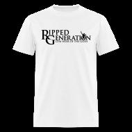 T-Shirts ~ Men's T-Shirt ~ Ripped Generation - Gym Wear of the Gods Logo T-Shirt