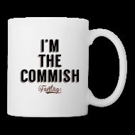 Bottles & Mugs ~ Coffee/Tea Mug ~ I'm the Commish: Coffee Mug