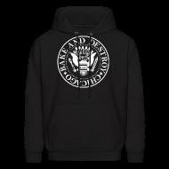 Hoodies ~ Men's Hooded Sweatshirt ~ Gabba Gabba Bake - Men's Hoodie