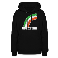 Hoodies ~ Women's Hooded Sweatshirt ~ Naas Ireland Rainbow