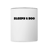 Mugs & Drinkware ~ Contrast Coffee Mug ~ Sleepy & Boo mug