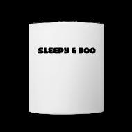 Bottles & Mugs ~ Contrast Coffee Mug ~ Sleepy & Boo mug