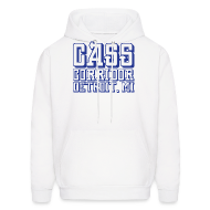 Hoodies ~ Men's Hooded Sweatshirt ~ Cass Corridor Detroit