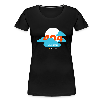 Clouds! 404 Moon Not Found Women T-Shirt
