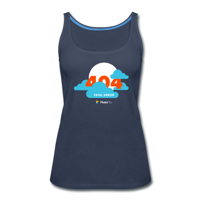 Clouds! 404 Moon not found Women Tank Top