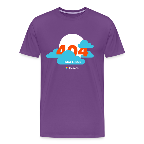 Clouds! 404 Moon not found Men T-Shirt