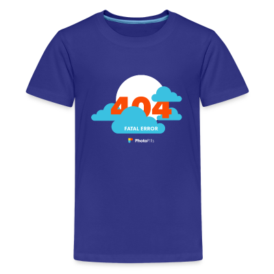 Clouds! 404 Moon not found Kids T-Shirt