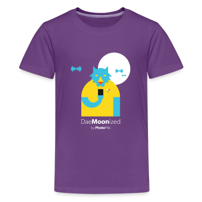 DaeMOONized Kids T-Shirt