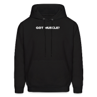Hoodies ~ Men's Hooded Sweatshirt ~ Got muscle | Mens hoodie