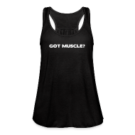 Tanks ~ Women's Flowy Tank Top by Bella ~ Got muscle | Womens flowy tank