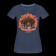 Women's T-Shirts ~ Women's Premium T-Shirt ~ german longhaired pointer