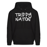 Hoodies ~ Men's Hooded Sweatshirt ~ Trippy Nation