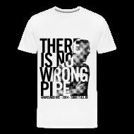 T-Shirts ~ Men's Premium T-Shirt ~ Wrong Pipe - Men's T