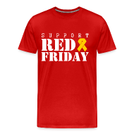 T-Shirts ~ Men's Premium T-Shirt ~ support red friday T-Shirts