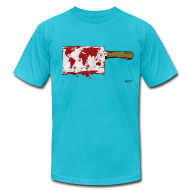 T-Shirts ~ Men's T-Shirt by American Apparel ~ Violent World