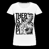 Women's T-Shirts ~ Women's Premium T-Shirt ~ Wrong Pipe - Women's T