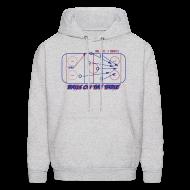 Hoodies ~ Men's Hooded Sweatshirt ~ Balls On The Table - Hoodie