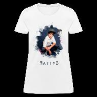 Women's T-Shirts ~ Women's T-Shirt ~ Matty B Splash Womens T-Shirt