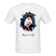 T-Shirts ~ Men's T-Shirt ~ Matty B Splash Mens T-Shirt