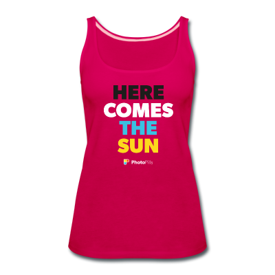 Tank Top Here comes the sun Mujer