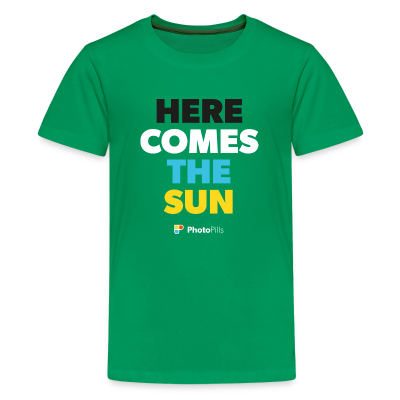 Camiseta Here comes the sun Niños