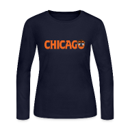 Long Sleeve Shirts ~ Women's Long Sleeve Jersey T-Shirt ~ Chicago Ol' Coach