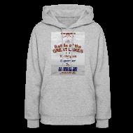 Hoodies ~ Women's Hooded Sweatshirt ~ Battle of the Great Lakes