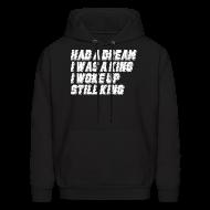Hoodies ~ Men's Hooded Sweatshirt ~ STILL KING