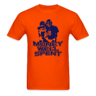 T-Shirts ~ Men's T-Shirt ~ Money Well Spent - Mens T-shirt - Light Garment