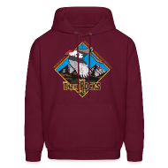 Hoodies ~ Men's Hooded Sweatshirt ~ partridge on the rocks