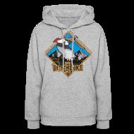 Hoodies ~ Women's Hooded Sweatshirt ~ partridge on the rocks