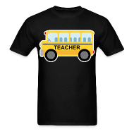 T-Shirts ~ Men's T-Shirt ~ Teacher Gift School Bus T-shirt