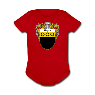 Baby & Toddler Shirts ~ Baby Short Sleeve One Piece ~ Hogan Coat of Arms