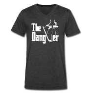 T-Shirts ~ Men's V-Neck T-Shirt by Canvas ~ The Dangler