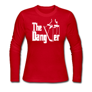 Long Sleeve Shirts ~ Women's Long Sleeve Jersey T-Shirt ~ The Dangler