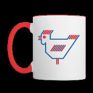 Mugs & Drinkware ~ Contrast Coffee Mug ~ American Chicken