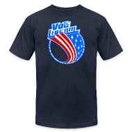 T-Shirts ~ Men's T-Shirt by American Apparel ~ Vote Liberal America