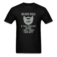 T-Shirts ~ Men's T-Shirt ~ Beard Rule #47