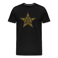 T-Shirts ~ Men's Premium T-Shirt ~ Gold Star Shirt
