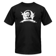 T-Shirts ~ Men's T-Shirt by American Apparel ~ Tesla shirt