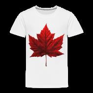 Baby & Toddler Shirts ~ Toddler Premium T-Shirt ~ Canada Baby T-shirt Maple Leaf Canada Souvenir