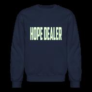 Long Sleeve Shirts ~ Men's Crewneck Sweatshirt ~ hope dealer