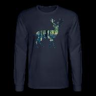 Long Sleeve Shirts ~ Men's Long Sleeve T-Shirt ~ Michigan Deer