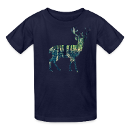 Kids' Shirts ~ Kids' T-Shirt ~ Michigan Deer