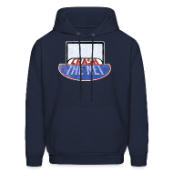 Hoodies ~ Men's Hooded Sweatshirt ~ Crash The Net Hoodie