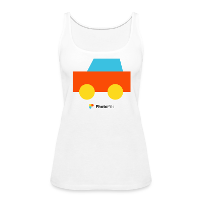 Car Women Tank Top