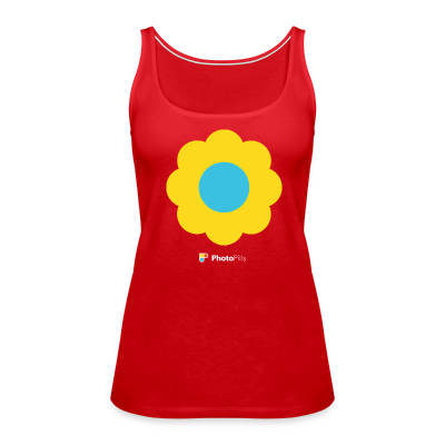 Tank Top Flower Power Mujer