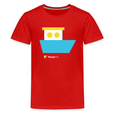Shipwrecks Kids T-Shirt
